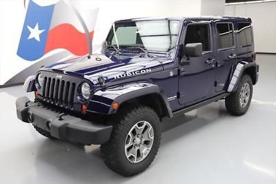 eBay: 2013 Jeep Wrangler Unlimited Rubicon Sport Utility 4-Door 2013 JEEP WRANGLER RUBICON UNLTD 4X4 6SPD HARTOP NAV 5K… #jeep #jeeplife