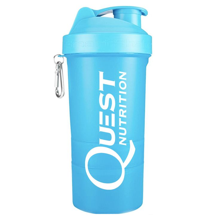 Quest Smart Shake Bottle (Plus Free Protein Sample)