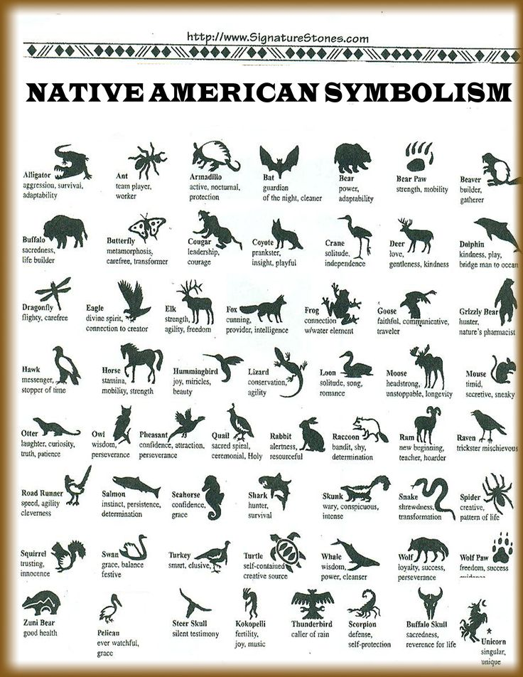 Native American Symbolism; I did not know the unicorn was ...