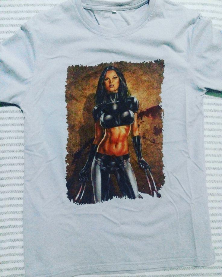 X-23  #shirts #printed #marvel #x23  #laurakinney #DIY