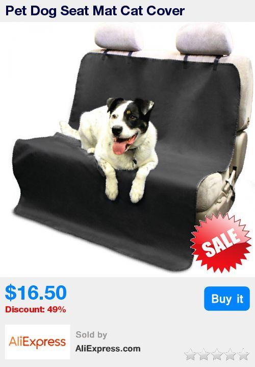 Pet Dog Seat Mat Cat Cover Waterproof Blanket Car Rear Back Car-Covers Pet Carrier Hammock Cushion Covers For Car Seats Black * Pub Date: 19:51 May 27 2017