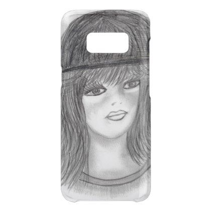 #Flipped Hair Flapper Uncommon Samsung Galaxy S8 Case - #deco #gifts