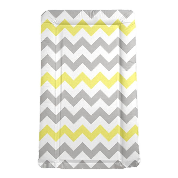 My Babiie Changing Mat in Grey Chevron Kiddicare.com