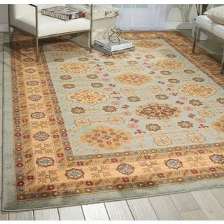 Nourison Maymana Sky Rug (7'10 x 10'10)   Overstock.com Shopping - The Best Deals on 7x9 - 10x14 Rugs
