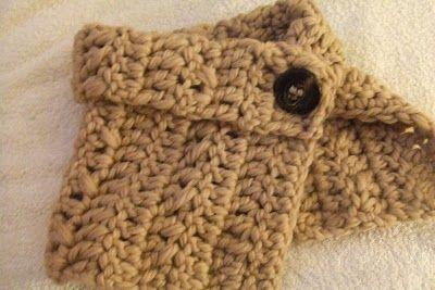 One Skein Crochet Scarf - Free Crochet Pattern cctq