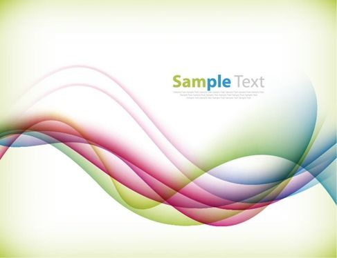 Free vector Colorful Bend Vector Background Illustration #4994