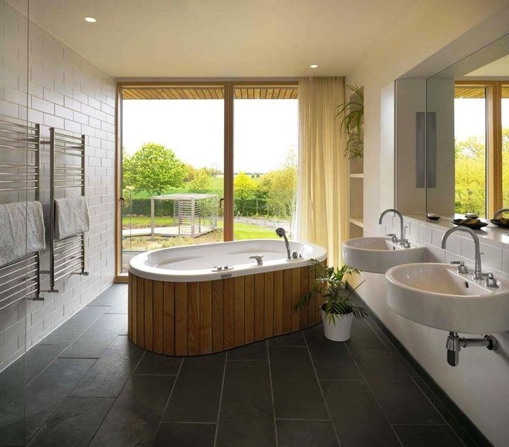 Simple Ideas Bathroom Remodel Natural Wooden Bathtub Material Practice Remodeling For Your