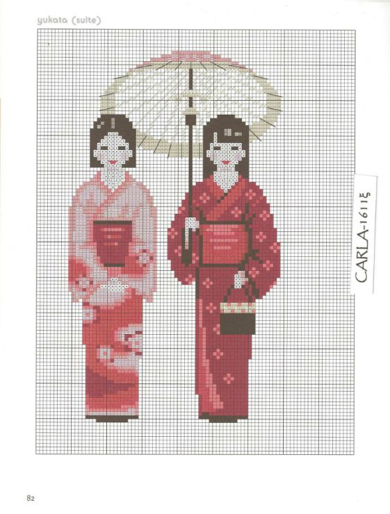 Gallery.ru / Фото #33 - Japon au point de croix - patrizia61