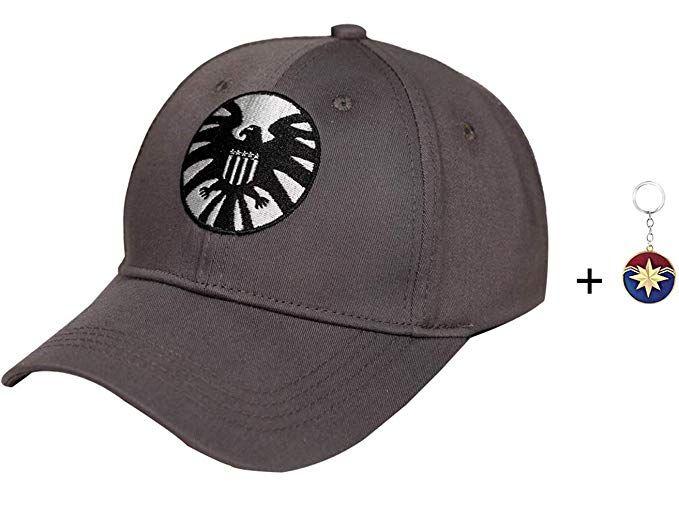 Amazon Com Captain Marvel Hat Carol Danvers Hat Cap Marvel Shield 2019 Hat For Women Men Clothing Marvel Hats Captain Marvel Cosplay Marvel Shield