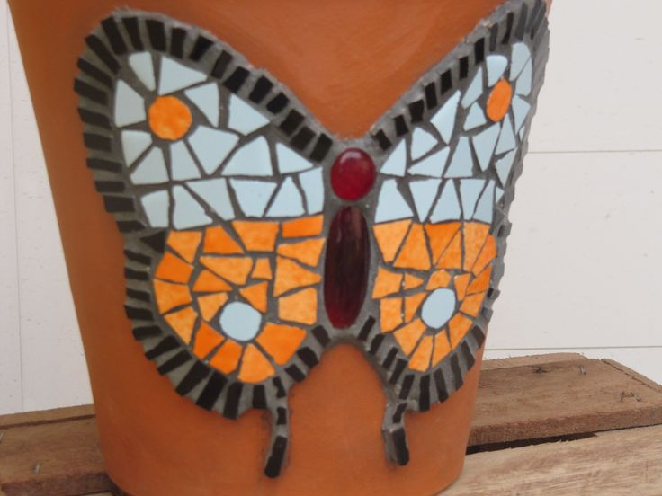 153 Best Images About Mosaic Butterfly S On Pinterest