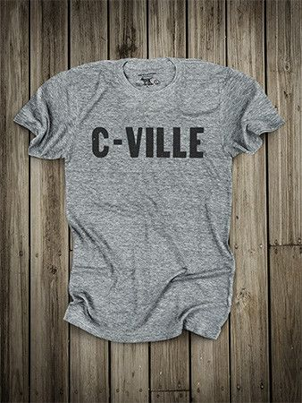 SIZE Large (they are really small!) Charlottesville  // ACC Homecoming // Shirt made fully in USA
