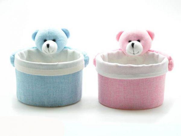Pongotodo Oso Claros - Portadotodo osos claros, 2 colores, entre rosa y azul.
