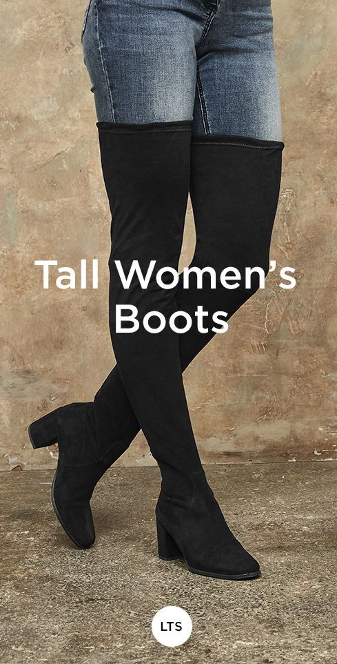 fe037a2cac2 Tall women's boots | Large Size Women's Shoes in 2019 | Boots ...