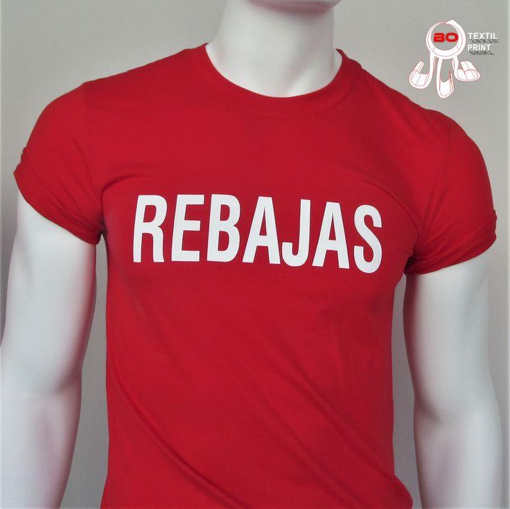Camisetas rebajas, www.botextilprint.es  #rebajas #navidad #camisetas #botextilprint #vinilotextil #bordado #coruña