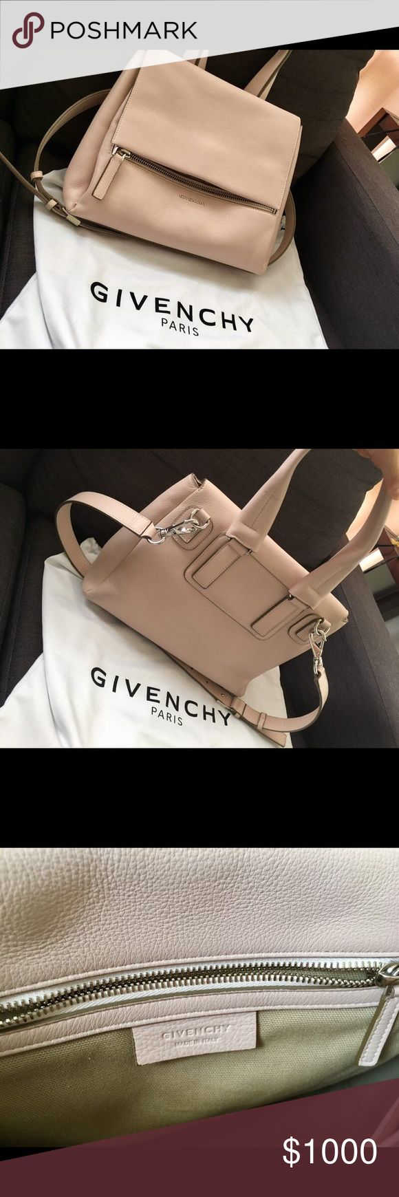Givenchy medium pandora pure in nude pink 99% new very soft leather got from farfectch with $1700 US market retail for 2395 almost new only used once and lower price on p ay p al 1000 Givenchy Bags Shoulder Bags