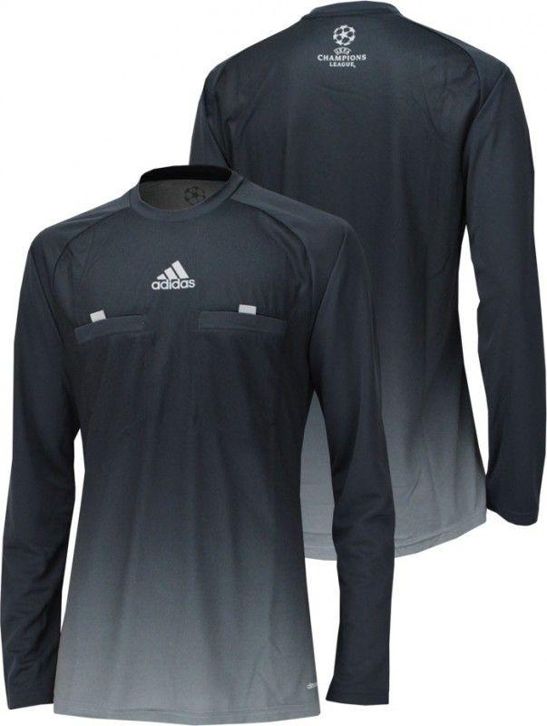 UEFA チャンピオンズリーグ14/15シーズンレフェリーシャツ。 実際に審判が着用していたモデル。