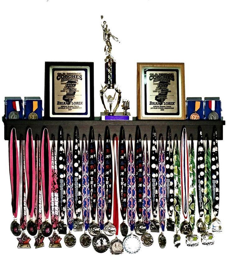 3 ' Running Medal Hanger and Trophy Shelf by MedalAwardsRack
