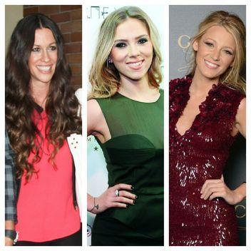 Engagement Ring Face-Off: Alanis Morissette vs. Scarlett Johansson vs. Blake Lively! Who Scored the Best Engagement Ring from Ryan Reynolds?