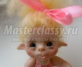 Самодельные куклы из полимерной глины