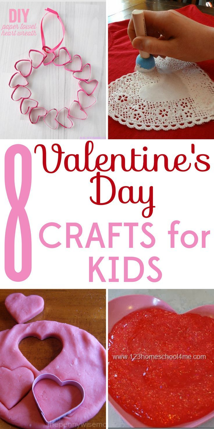 It's the sweetest holiday of the year! The whole family will enjoy these 8 frugal and fabulous Valentine's Day crafts for kids.