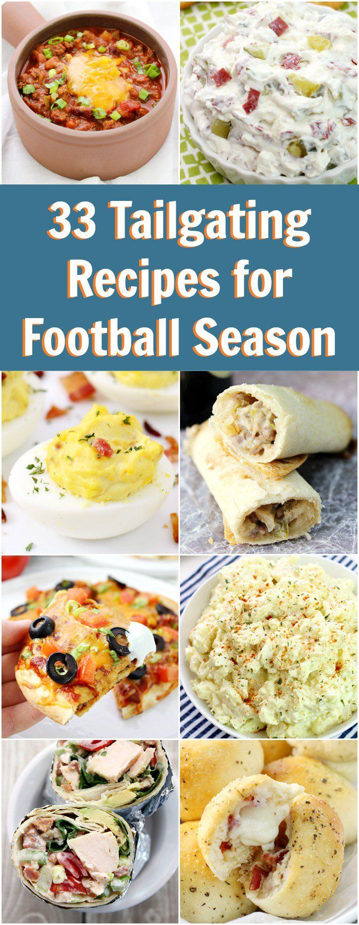 33 Tailgating Recipes for Football Season (Food Recipes College)