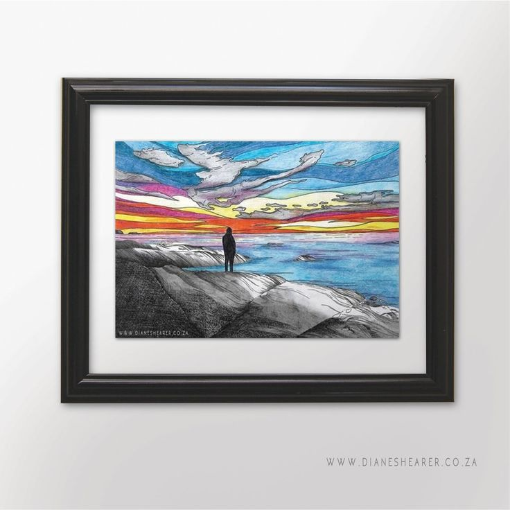 Camps Bay Sunset Print