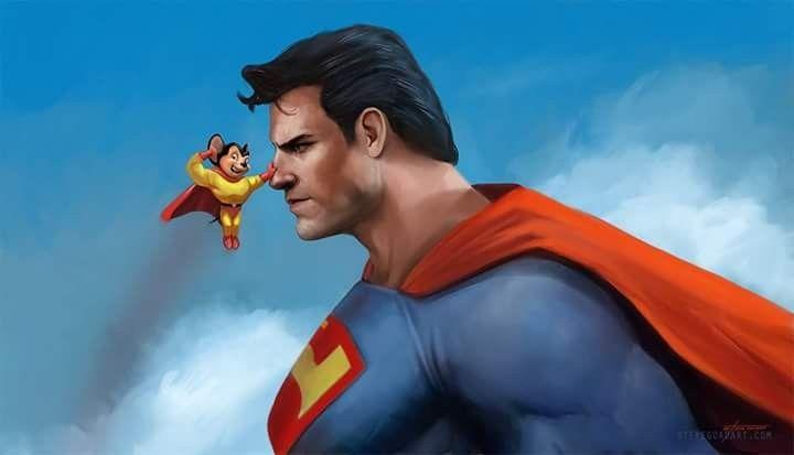 Super Raton Vs Superman Personajes De Superman Personajes Dc Personajes De Dc Comics