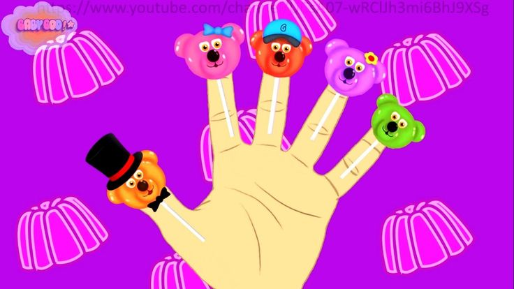 Jelly Bear Finger Family | Nursery rhymes for kids | Baby rhym