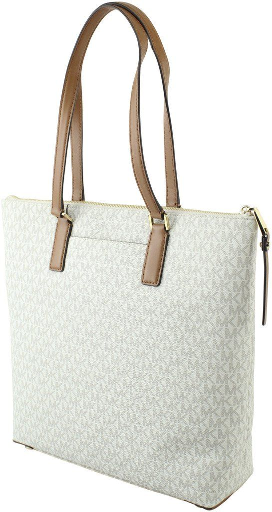 1b9665331754 MICHAEL Michael Kors Womens Ariana Large Logo Tote Style 30T7GA3T3B Vanilla  ** Details can be found by clicking on the image. (This is an affiliate  link) # ...
