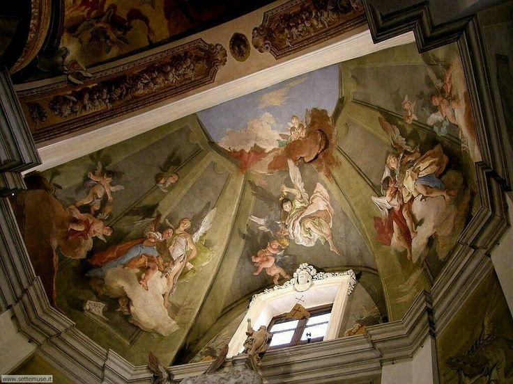 1726. Angeli cantori.  Cappella del SS. Sacramento