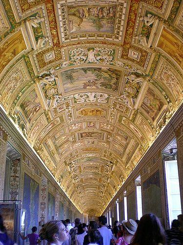 Gallery of maps,Vatican museums, Vatican City