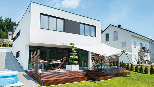 Massive Baustoffe Massivhaus Outdoor Dekorationen Und Haus