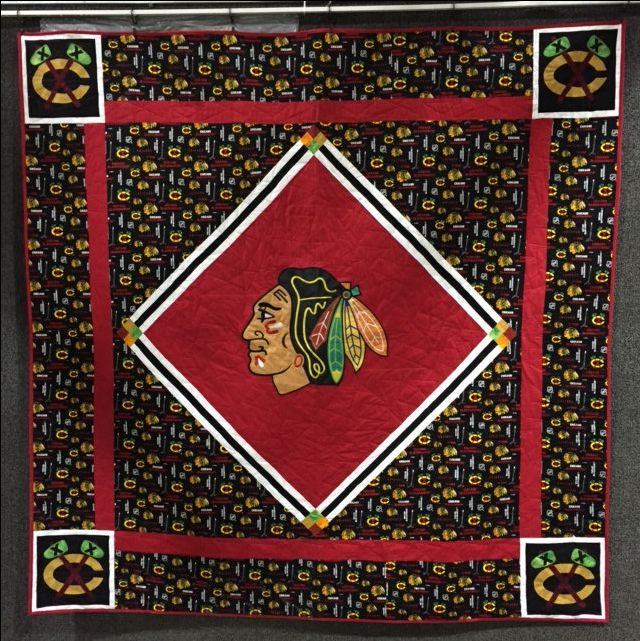 Blackhawk Quilt by Sablequilts on Etsy