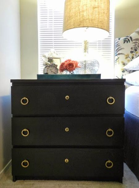 Ikea Hack Malm Dresser Make Diy And Paint Black Or Dark