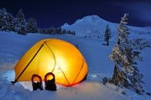 Winter camping and backpacking tips from REI.  This link has loads of worthwhile information.