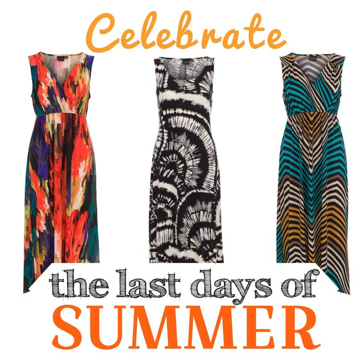 Of course, we're excited for ‪#‎FallFashion‬, but why not celebrate the last days of summer by wearing your favourite maxi dresses? ‪#‎summer‬ ‪#‎summerstyle‬ ‪#‎farewellsummer‬ ‪#‎fashion‬ #tribalsportswear
