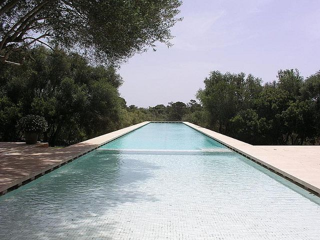 John Pawson, villa Neuendorf,pool, Mallorca by Boris Steinweg, via Flickr#Repin By:Pinterest++ for iPad#