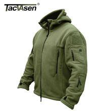 TACVASEN Зимние Военные Руно Теплые Мужчины Тактическая Куртка Тепловая Дышащий Капюшоном мужчины Пальто Куртки Верхняя Одежда Одежда YCIDL-001(China (Mainland))