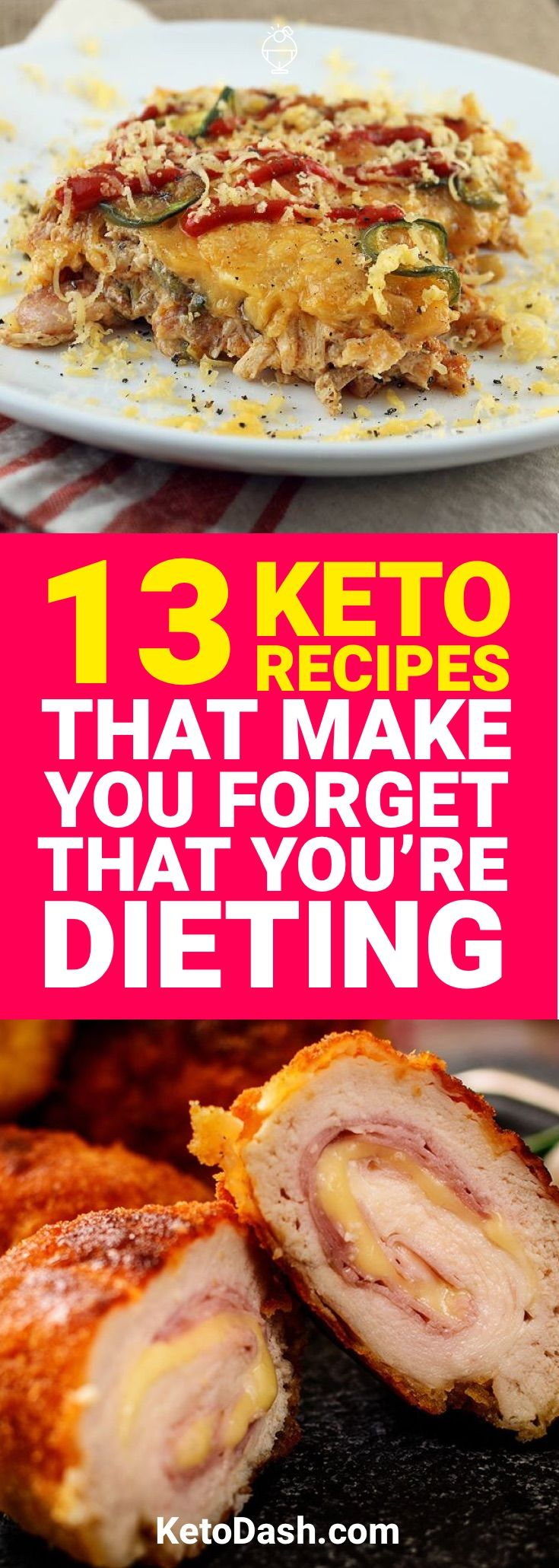 Being on a diet never sounds fun. Luckily, here are 13 keto recipes that will make you forget you're dieting.