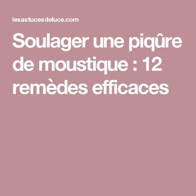 1000 id es sur le th me rem de de piq re de moustique sur pinterest prurit de piq re de - Remede piqure de moustique ...