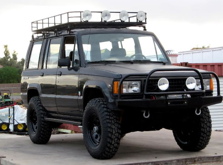 bad ass isuzu trooper google search trooper pics. Black Bedroom Furniture Sets. Home Design Ideas