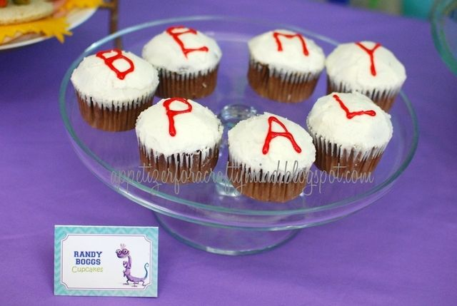 Monsters University Randy's Cupcakes... BRILLIANT!