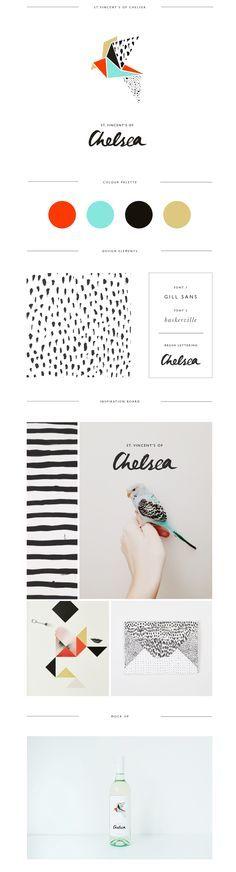 I love the hand drawn line and dot elements. I also love the color scheme! http://www.trudygeorgina.com/?utm_content=buffer10624&utm_medium=social&utm_source=pinterest.com&utm_campaign=buffer#/st-vincents-of-chelsea