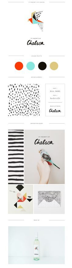 I love the hand drawn line and dot elements. I also love the color scheme! http://www.trudygeorgina.com/?utm_content=buffer10624&utm_medium=social&utm_source=pinterest.com&utm_campaign=buffer#/st-vincents-of-chelsea