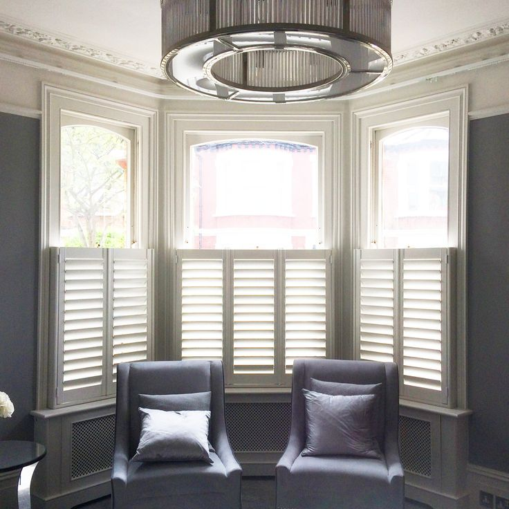 45 Best Cafe Style Shutters Images On Pinterest Blinds