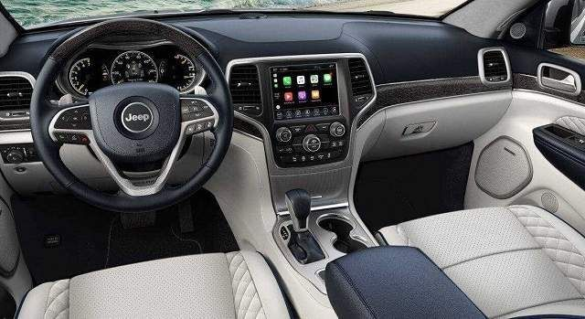 2020 Jeep Grand Cherokee Limited White Interior