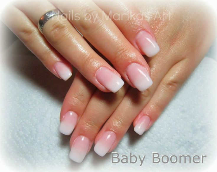 Nägel Babyboomer Rosa   2021   Nails, Nageldesign ...