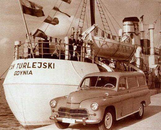 Warszawa furgon