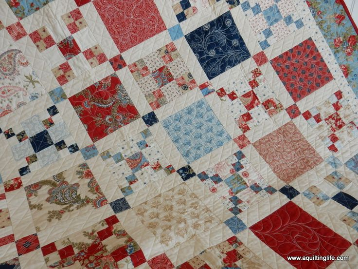 Favorite Red, White, & Blue Quilts | A Quilting Life - a quilt blog