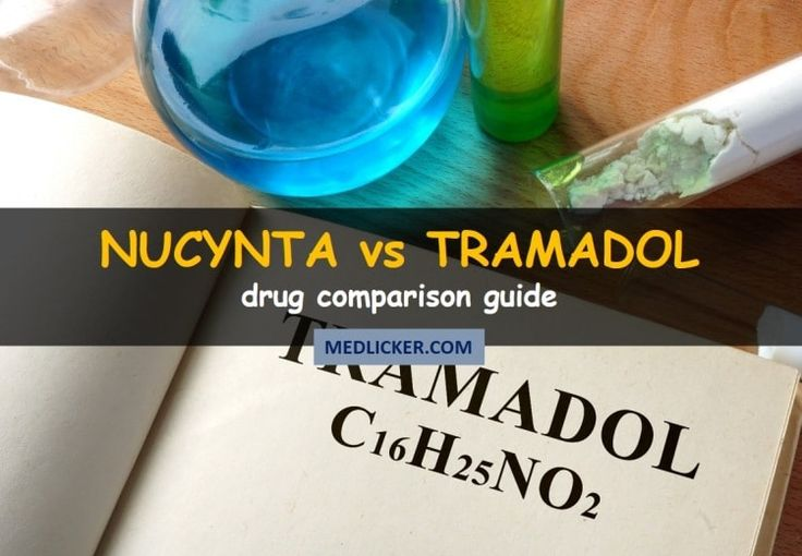 Nucynta vs Tramadol: drug comparison guide